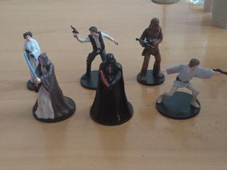 6 figuras star wars