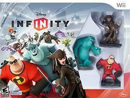 Juego Disney Infinity Wii mas figuras