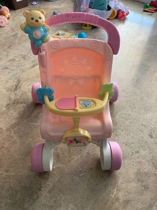 Trona juguete con ruedas