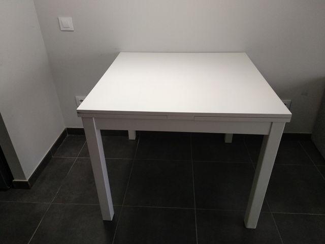 Mesa Comedor Extensible Ikea Bjursta De Segunda Mano Por 70 En