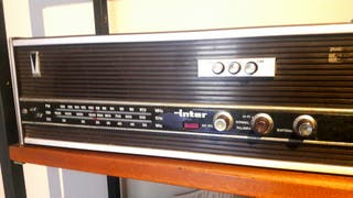 radio Inter antigua de los 60s - 70s