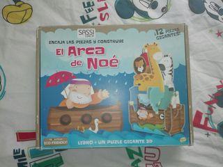 Puzzle 3D El arca de Noé