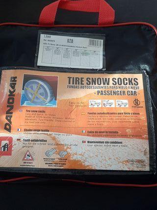 Fundas para hielo y nieve. Sustituye a las cadenas