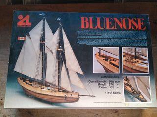 Maqueta de barco Bluenose