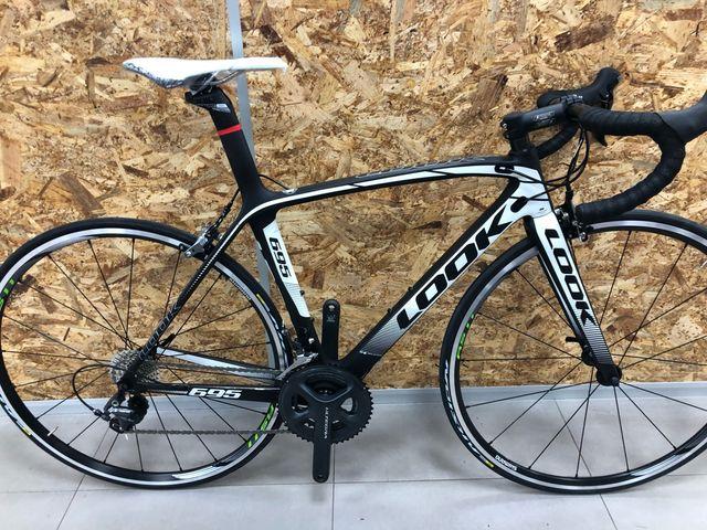 Look 695 talla Xs carbono/blanca Ultegra