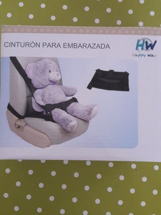 Cinturon embarazada coche