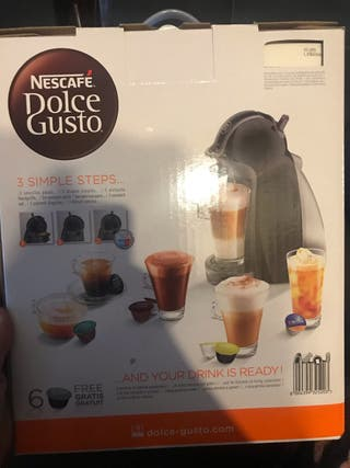 Cafetera dolce gusto nescafe