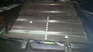 pista conexión y recta Scalextric