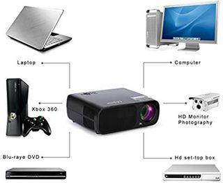 LESHP Mini Proyector LED 1080p HD HDMI NUEVO
