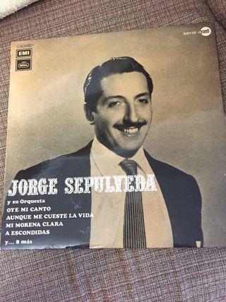 Vinilo Jorge Sepulveda y su orquesta