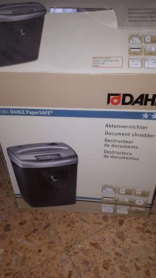 destructora de documentos