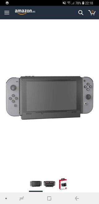 Nintendo switch base carga. o cambio por juego