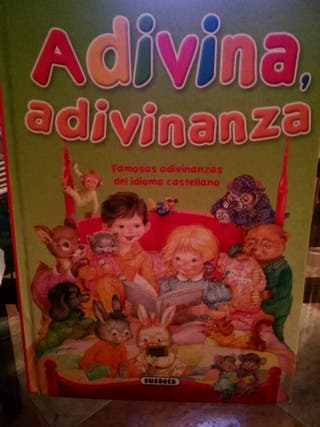 libro infantil adivina adivinanza