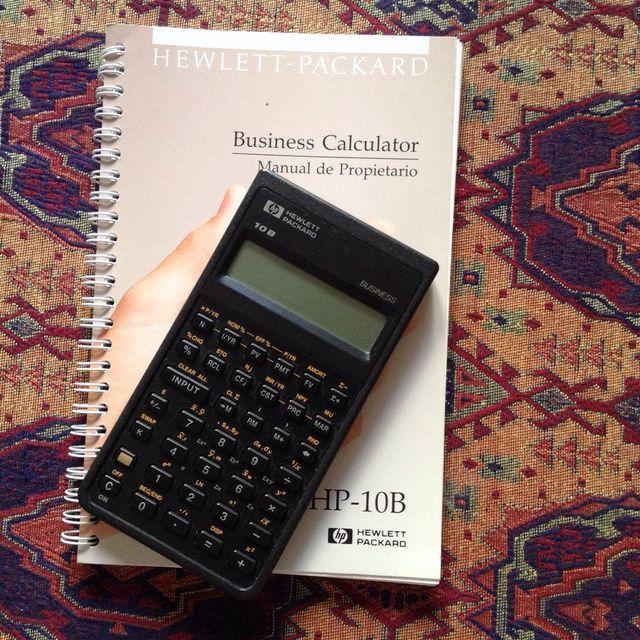 manual calculadora hp 10b business