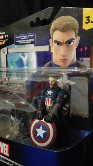 Figura Capitán América Disney Infinity