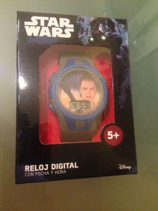 Reloj digital Disney Star Wars Rey NUEVO