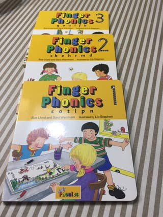 Libros finger phonics 1-2-3