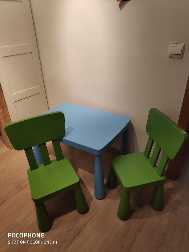 Mesa Infantil Ikea Y 2 Sillas