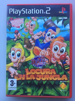 Juego PS2 Buzz Junior Locura en la jungla