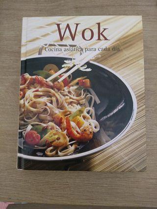 """Libro """"Wok cocina Asiatica para cada día"""""""