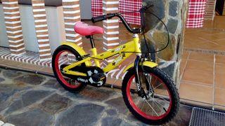 "Vendo bicicleta 16"""