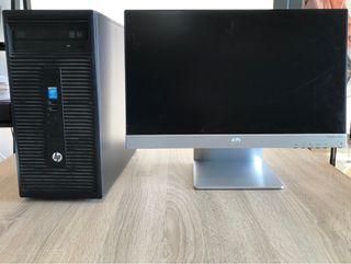 Ordenador de sobremesa HP con pantalla Hp Pavilion