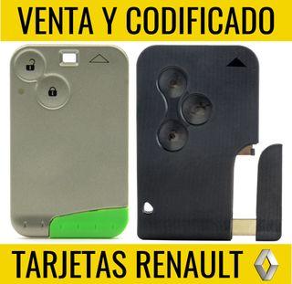 Tarjetas para Renault desde 70€.Leganes.