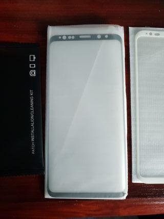 Protectores de pantalla de Samsung S9 + Plus