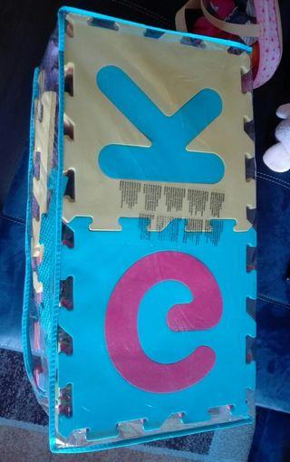 Puzzle gomaespuma infantil 36 piezas