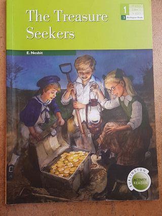 libro en ingles de 1° ESO: THE TREASURE SEEKERS