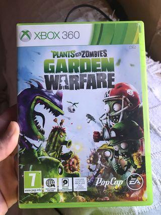 Juego xbox 360 plantas contra zombies