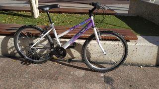 Bicicleta niña , 24 pulgadas