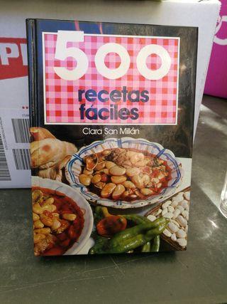 Recetas de Cocina Faciles 500.