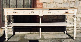 Mesa mostrador de colmado antigua