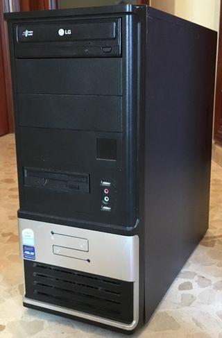 Ordenador completo PC 2 x 2,5GHz 2GB RAM