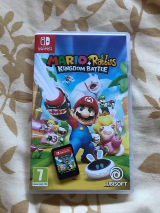 Mario + rabbids Nintendo Switch
