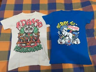 CAMISETAS A DAY TO REMEMBER