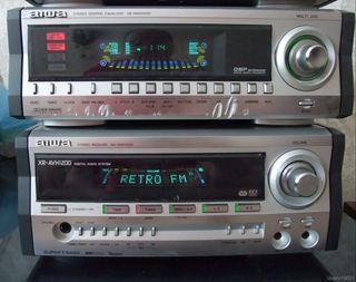 Amplificador Aiwa 5.1