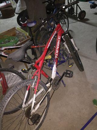 Juego de bicicletaa