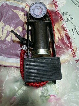 hichador con manómetro