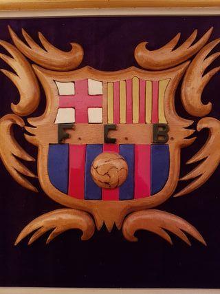 Cuadro escudo barça