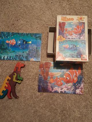 2 puzzles 16 piezas 3-5 años