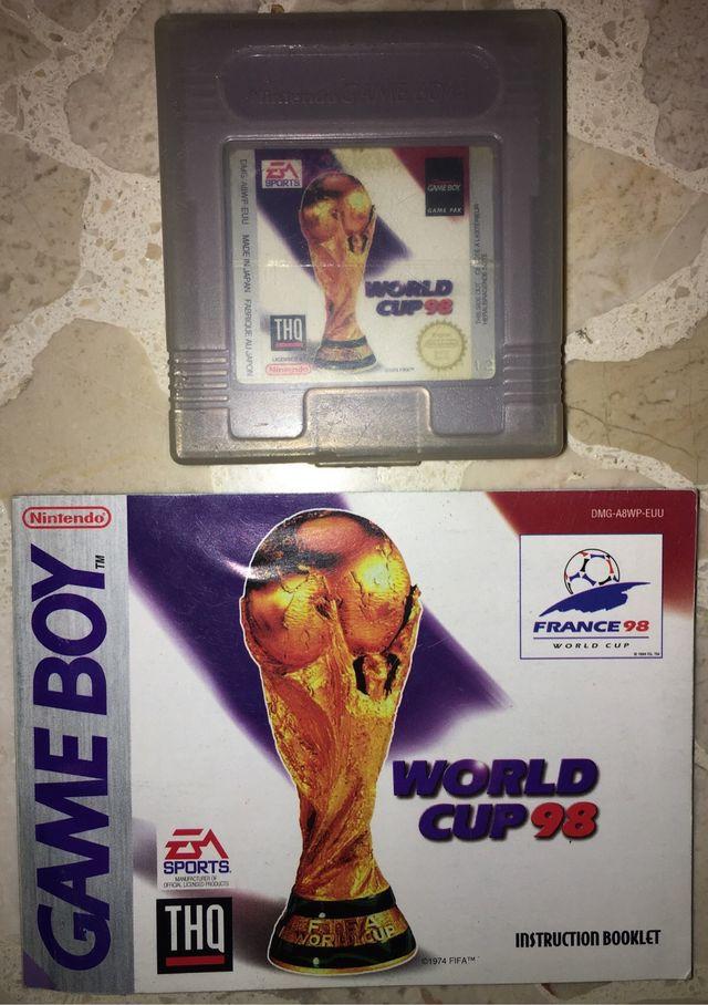 Juego Game Boy FIFA World Cup 98