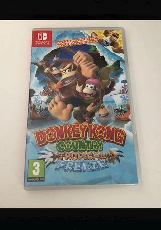 donkey Kong country switch