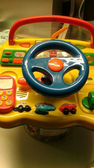 juguete didáctico para aprender a conducir