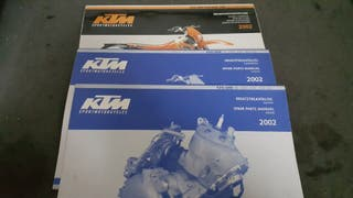 Manual intrucciones KTM 2002