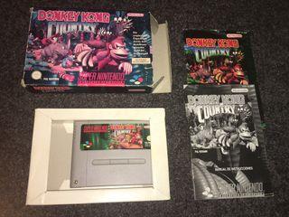 Donkey kong Country para Super Nintendo