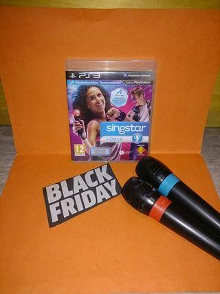 SingStar Dance + Micrófonos PS3