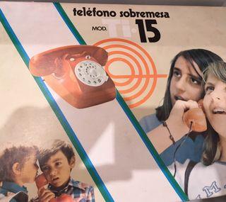 Teléfono de juguete vintage