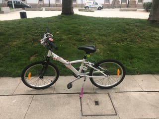 CHOLLO!!! bicicleta Decathlon 6/8 años nueva